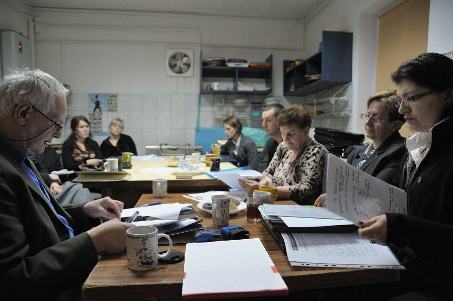 Zebranie Stowarszyszenia Kaźmierz w dniu 11 marca 2011.
