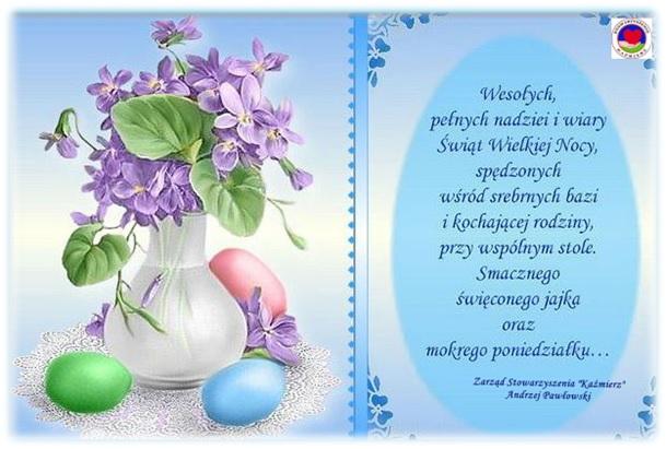 Życzenia na Wielkanoc 2017